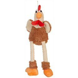 GoDog Large Rooster Dog Toy