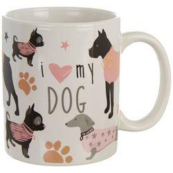 Tri Coastal I Love My Dog Mug