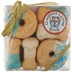 Claudia's Canine Cuisine Blue Buddies Gift Box Dog Treats
