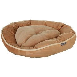 Precious Tails Round Dog Bed