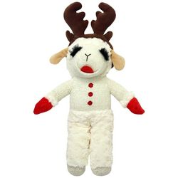 Multipet 15'' Lamb Chop With Antlers Dog Toy