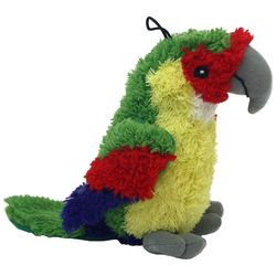 Multipet Look Who's Talking Parrot Dog Toy