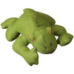 Multipet Dazzler Plush Frog Dog Toy