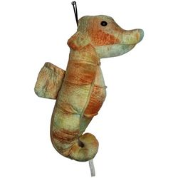 Patchwork Pet Tie Dye Seahorse Dog Toy