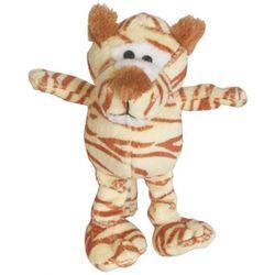 Patchwork Pet 6'' Mini Wild Tiger Dog Toy
