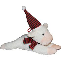 Patchwork Pet 10'' Cozy Lamb Dog Toy