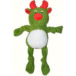 Patchwork Pet 10'' Corduoroy Reindeer Dog Toy