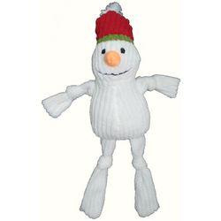 Patchwork Pet 10'' Corduoroy Snowman Dog Toy