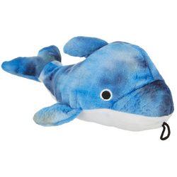Patchwork Pet 10'' Tie Dye Dolphin Dog Toy