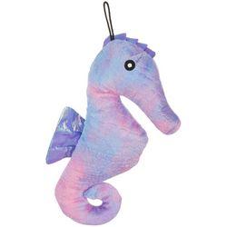 Patchwork Pet 12'' Tie Dye Seahorse Dog Toy