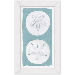 Coastal Home Sunny Sand Dollar Framed Wall Art