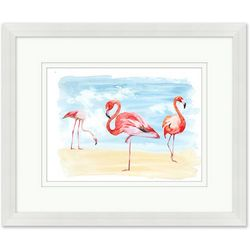 Coastal Home Flamboyance Framed Wall Art