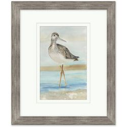 Coastal Home Sand Piper II Framed Art