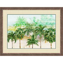 Palm Island Home Palm Breeze Framed Art
