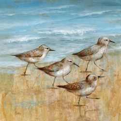Palm Island Home Sandpipers I Wall Art