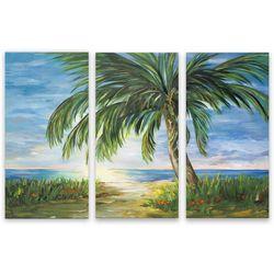 Palm Island Home 3-pc. Island Dreams Canvas Wall Art
