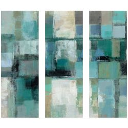 Artissimo 3-pc. Island Hues Triptych Canvas Wall Art