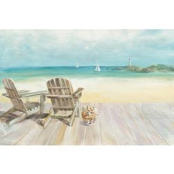 Palm Island Home Seaside Mornings Wall Art