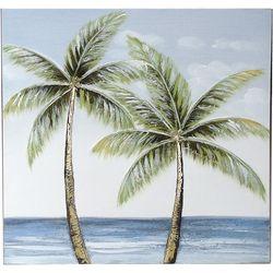 JD Yeatts Palm Tree Canvas Wall Art