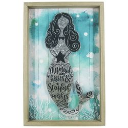 JD Yeatts Mermaid Kisses Wood Box Art