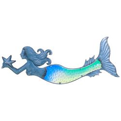 JD Yeatts Mermaid Metal Wall Art
