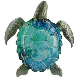 JD Yeatts Turtle Metal Wall Art