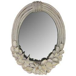 JD Yeatts Seashell & Rope Wall Mirror