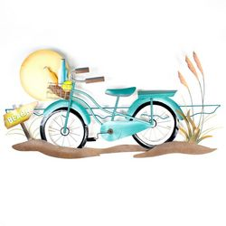 T.I. Design Metal Beach Cuiser Wall Art