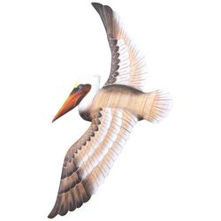 T.I. Design Flying Pelican Wall Art