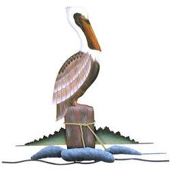 T.I. Design Pelican Wall Art