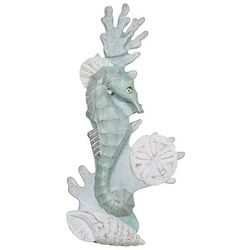 T.I. Design Seahorse Reef Metal Wall Art