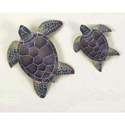 T.I. Design 2-pc. Sea Turtles Wall Art