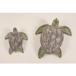 T.I. Design 2-pc. Sea Turtle Wall Art
