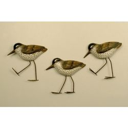 T.I. Design 3-pc. Sandpiper Wall Art
