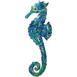 Leoma Lovegrove Seahorse Metal Wall Art