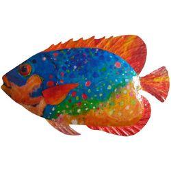 Leoma Lovegrove Duchess Fish Metal Wall Art
