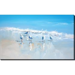 Streamline Art Sorrento Gulls Canvas Wall Art