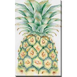 Streamline Art Pineapple Canvas Wall Art