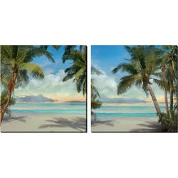 Streamline Art 2-pc. Palm Calm Canvas Wall Art Set