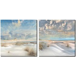 Streamline Art 2-pc. Smooth Sands Canvas Wall Art Set