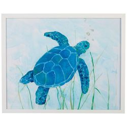 Picture Depot Watercolor Sea Turtle Framed Art