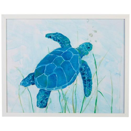 e2d5a1257eb Picture Depot Watercolor Sea Turtle Framed Art | Bealls Florida