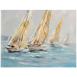 StyleCraft Sailboats Canvas Wall Art