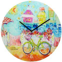 Leoma Lovegrove My Happy Place Wall Clock