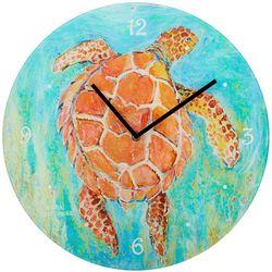 Leoma Lovegrove 16'' Lights Off Wall Clock