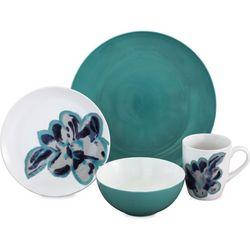 Baum Bloom Jade 16-pc. Dinnerware Set