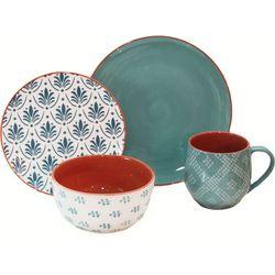 Baum Turquoise Oasis 16-pc. Dinnerware Set