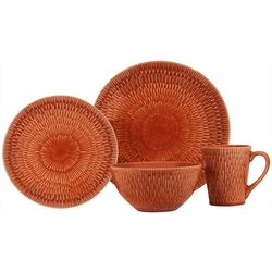 Baum Palisades Paprika 16-pc. Dinnerware Set