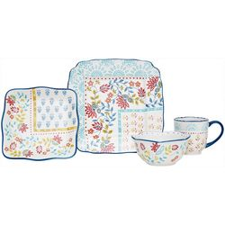 Baum Boho Scarf 16-pc. Dinnerware Set