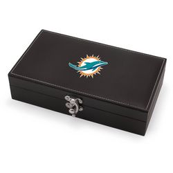 Miami Dolphins Syrah Wine Set by Picnic Time
